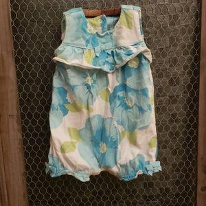 Baby Girls Gymboree Floral Romper 3-6 month